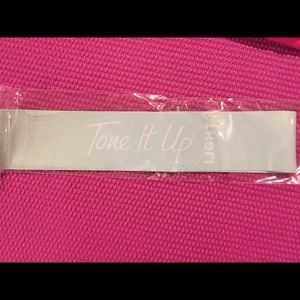 Tone It Up Light Resistance Exercise Band Teal Blu